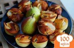 Фото рецепта: «Маффины с грушами»