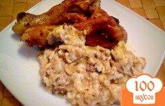 Фото рецепта: «Сливочно-грибной соус»