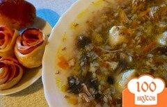 Фото рецепта: «Суп с картофельными клёцками»
