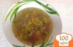 Фото рецепта: «Гречневый суп со свининой»