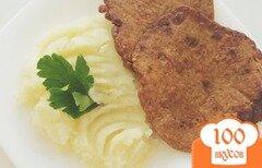 Фото рецепта: «Печеночные оладьи»