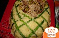 Фото рецепта: «Картофельный башмак с имбирным мясом»