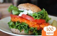 Фото рецепта: «Бутерброд с курицей»