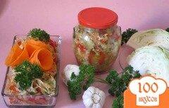 Фото рецепта: «Баклажаны с капустой на зиму»