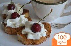 Фото рецепта: «Кофейные гренки к завтраку»