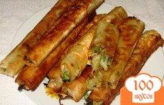 Фото рецепта: «Вертута с капустой»