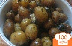 Фото рецепта: «Картофель молодой с базиликом»