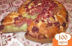 Фото рецепта: «Пирог с клубникой»