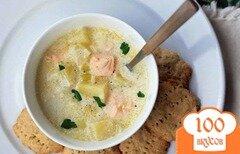 Фото рецепта: «Суп из семги в мультиварке»