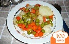 Фото рецепта: «Овощная смесь с картофелем»