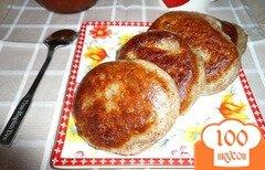 Фото рецепта: «Оладушки с льняной мукой»