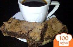 Фото рецепта: «Брауни с черным шоколадом»