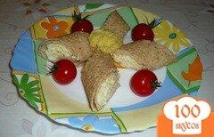 Фото рецепта: «Блинные рулетики закусочные»