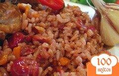 Фото рецепта: «Плов из цыпленка с вишней по азиатски»