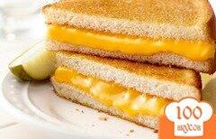 Фото рецепта: «Сэндвич с сыром»