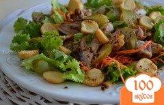 Фото рецепта: «Салат с куриным мясом гриль»