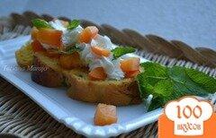 Фото рецепта: «Ромовые гренки из сдобной булочки»