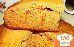Фото рецепта: «Пирог с медом в мультиварке»
