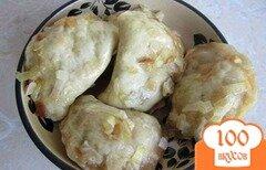 Фото рецепта: «Вареники с капустой на пару»