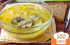Фото рецепта: «Суп из консервы сардины»