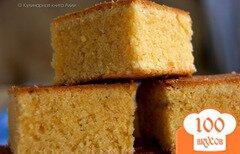 Фото рецепта: «Миндальный кекс на желтках»