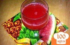 Фото рецепта: «Арбузно-имбирный напиток»