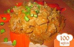 Фото рецепта: «Свиная печень по-восточному»