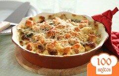 Фото рецепта: «Суфле из курицы с цветной капустой»