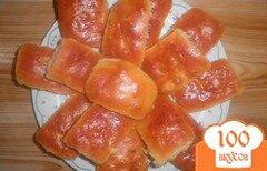 Фото рецепта: «Пирожки из дрожжевого теста с яблоками»