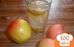 Фото рецепта: «Яблочный компот с виноградом»