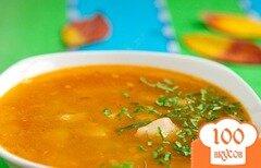 Фото рецепта: «Суп из томатной консервы»