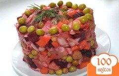 Фото рецепта: «Салат из отварных овощей»