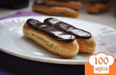 Фото рецепта: «Шоколадные эклеры»