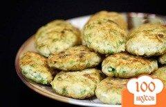Фото рецепта: «Рыбные котлеты с рисом»