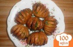 Фото рецепта: «Запеченный картофель с салом»
