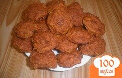 Фото рецепта: «Тыквенно-овсяное печенье»