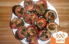 Фото рецепта: «Запеченные баклажаны с помидорами и сыром»
