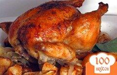 Фото рецепта: «Курица в мультиварке в рукаве»