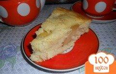 Фото рецепта: «Манник с яблоком»