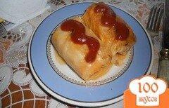 Фото рецепта: «Голубцы в томатно-сметанном соусе»
