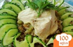 Фото рецепта: «Куриное филе на перине»