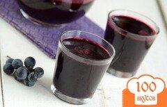 Фото рецепта: «Виноградный сок»