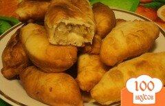 Фото рецепта: «Пирожки с квашеной капустой жареные»
