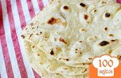 Фото рецепта: «Домашние лепешки тортильяс»
