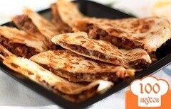 Фото рецепта: «Тортилья с мясом»