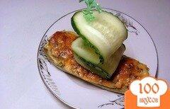 Фото рецепта: «Фаршированные лодочки из кабачков»