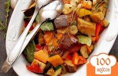 Фото рецепта: «Баклажаны, тушеные с овощами»