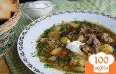 Фото рецепта: «Густой грибной суп»