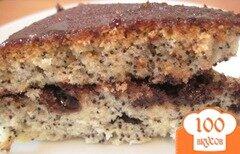 Фото рецепта: «Пирог с маком в мультиварке»