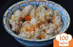 Фото рецепта: «Плов из курицы на сковороде»